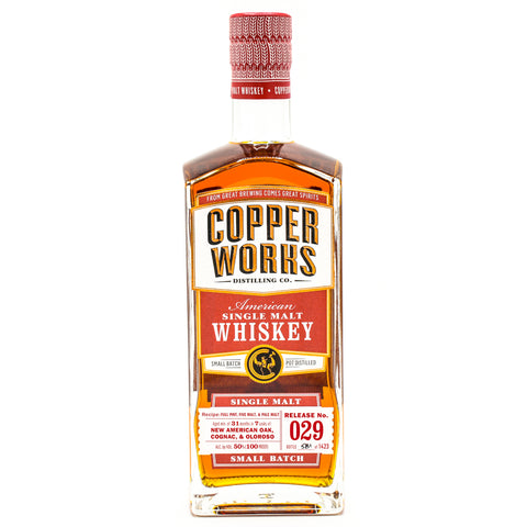 Copperworks American Single Malt Whiskey Release 029 (750ml)