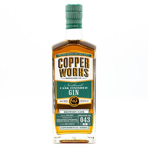 Copperworks Imperial Stout Cask Finished Gin (750 ml)