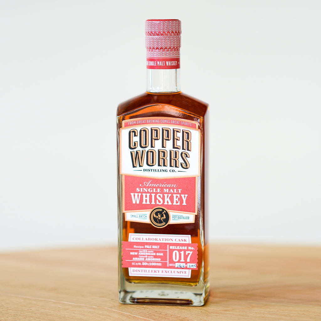 Copperworks American Single Malt Whiskey Release 017 Amaro Cask (750ml)