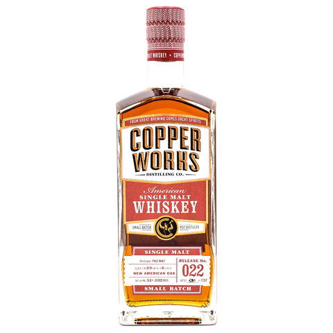 Copperworks American Single Malt Whiskey Release 022 (750ml)