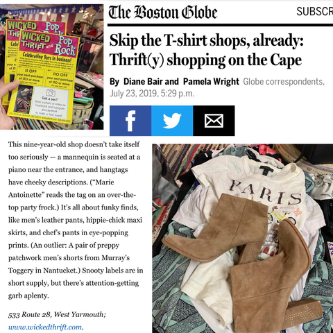 thrift shops cape cod
