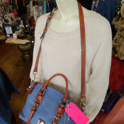 (ORIG.$328) DOONEY & BOURKE NWT Blue - PopRock Vintage. The cool quotes t-shirt store.