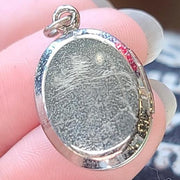 "Sterling Silver  ""Our Pride and Joy"" Locket - PopRock Vintage. The cool quotes t-shirt store."