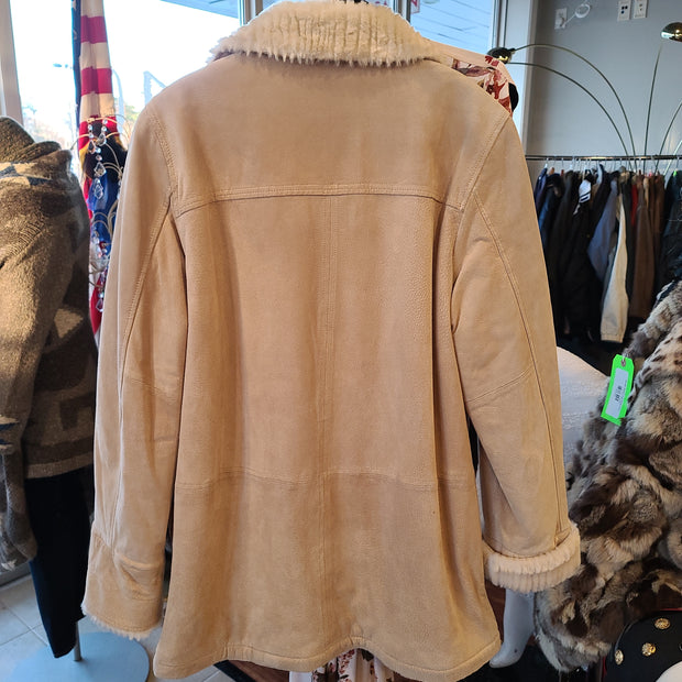 WINLET Reversible Leather Coat M