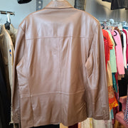 CLEARANCE! IRVING PARK NWT Men's Leather Blazer Jacket 44L - PopRock Vintage. The cool quotes t-shirt store.