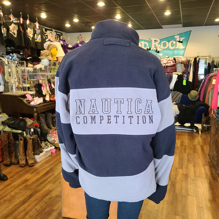 PRICE DROP! NAUTICA Men's Green Reversible Jacket L - PopRock Vintage. The cool quotes t-shirt store.