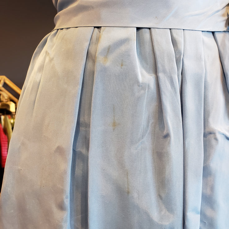 VINTAGE 1950s light blue cocktail dress XS - PopRock Vintage. The cool quotes t-shirt store.