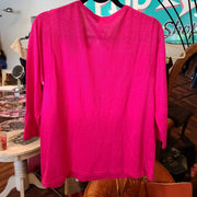 PRICE DROP Chicos Pink Knit Sweater top S - PopRock Vintage. The cool quotes t-shirt store.