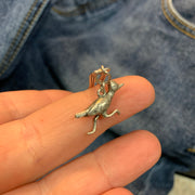 Vintage Sterling Road Runner Bird Pendant - PopRock Vintage. The cool quotes t-shirt store.