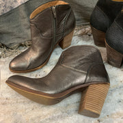 PRICE DROP Lucky Brand Bronze Ankle Boots 11 - PopRock Vintage. The cool quotes t-shirt store.