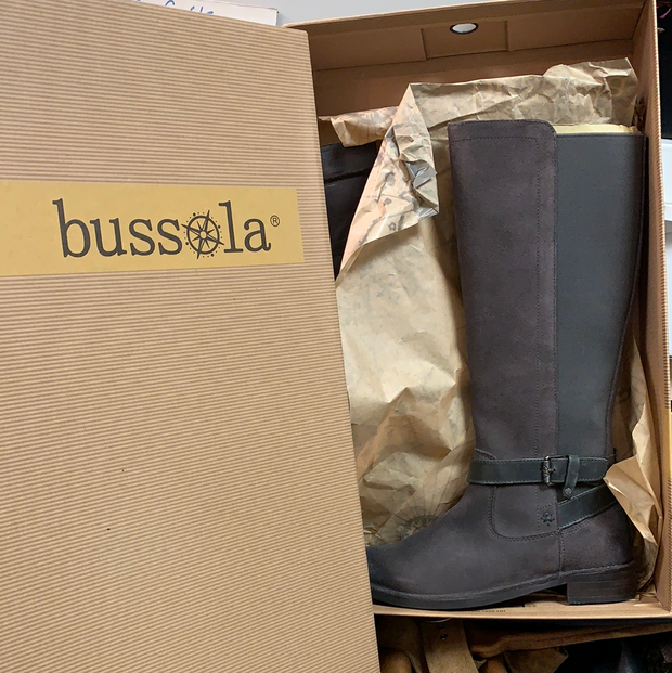 PRICE DROP! BUSSOLA New in Box Boots 36 6 - PopRock Vintage. The cool quotes t-shirt store.