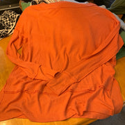 FREE PEOPLE Orange Rag Thermal Top - PopRock Vintage. The cool quotes t-shirt store.