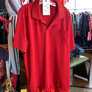 DICKIES Collared Golf Shirt RED 2XL