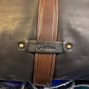 COLE HAAN Black Calfskin Crossbody - PopRock Vintage. The cool quotes t-shirt store.