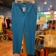 Talbots NWT Turquoise Pants 12