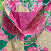 PRICE DROP! Lilly Pulitzer Skirt Butterflies Floral Pink Green 2 - PopRock Vintage. The cool quotes t-shirt store.