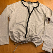 ATHLETA Drawstring Long-sleeve Top S - PopRock Vintage. The cool quotes t-shirt store.