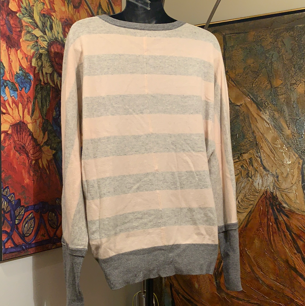 MICHAEL STARS Striped Cashmere Sweater M/L - PopRock Vintage. The cool quotes t-shirt store.