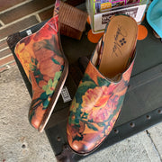 "Patricia Nash Clogs ""Floral Nicia"" 9.5 - PopRock Vintage. The cool quotes t-shirt store."