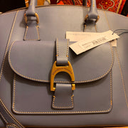 PRICE DROP! NWT $368 Dooney & Bourke Blue Naomi Satchel - PopRock Vintage. The cool quotes t-shirt store.