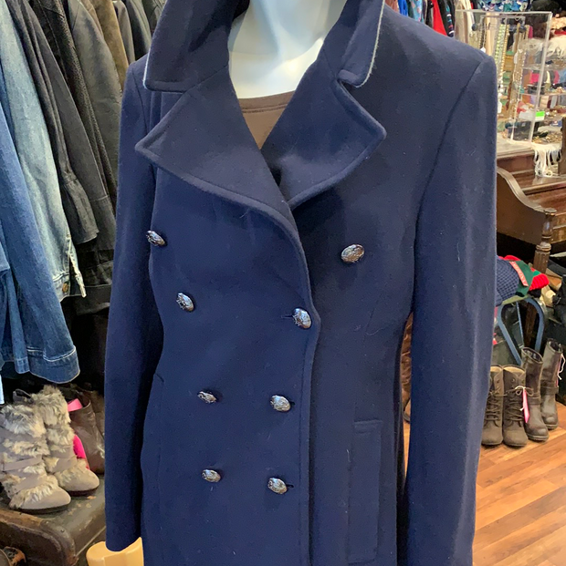 PRICE DROP! BANANA REPUBLIC NWT Womens Pea Coat M - PopRock Vintage. The cool quotes t-shirt store.