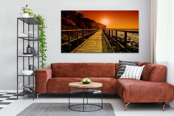 Away From it All Canvas Wall Art Print
