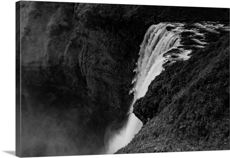 Peace of Nature Waterfall Canvas Wall Art Print