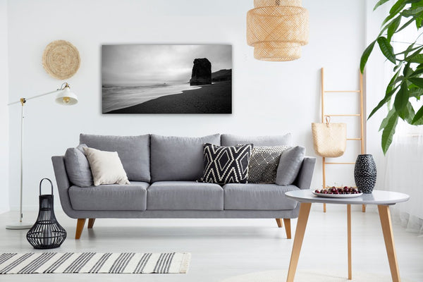 Peaceful Coast Canvas Wall Art Print