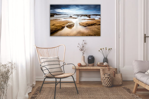 Ride the Tide Seascape Canvas Wall Art Print