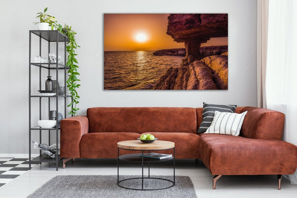 Sun Cave Canvas Wall Art Print