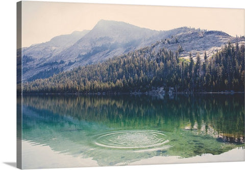 Beauty of Mountains and Valleys Canvas Wall Art Print