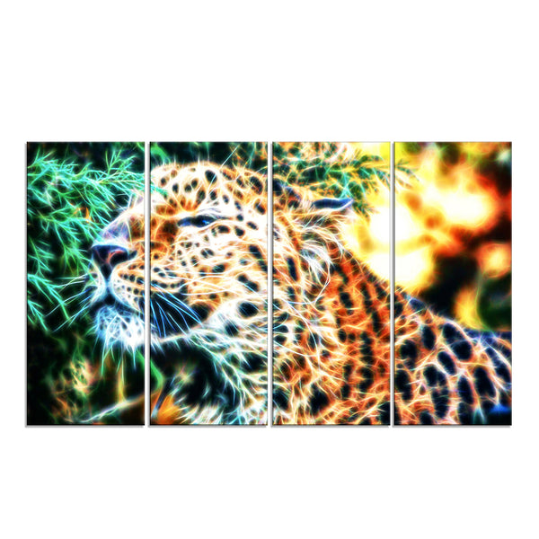 Beauty of the Cheeta Canvas Wall Art Print