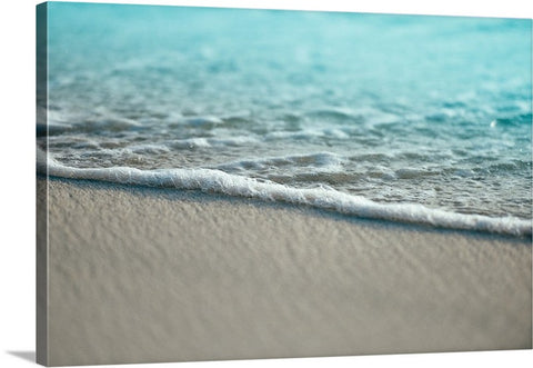 Calming Shore Waves Canvas Wall Art Print