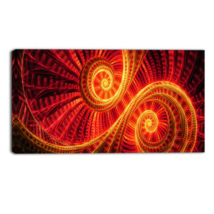 Daybreak Abstract Canvas Wall Art Print