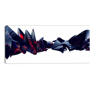 Dominant Force Abstract Canvas Wall Art Print