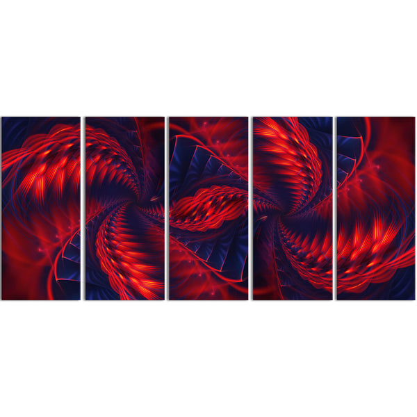 Electrify Me Abstract Canvas Wall Art Print