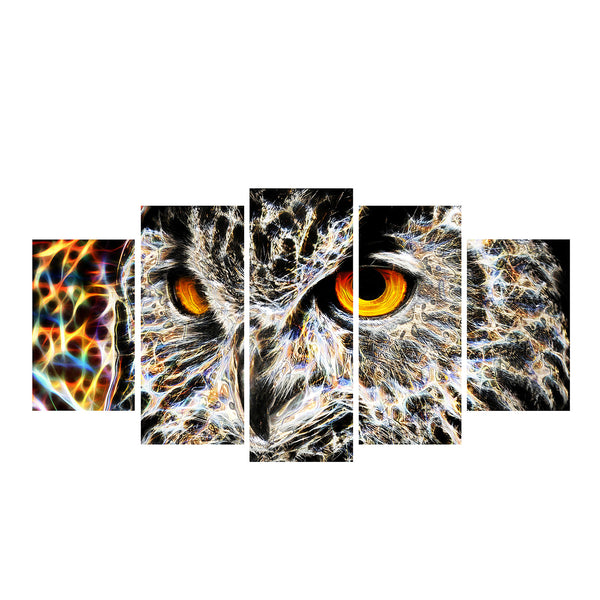 Great Gray Owl Canvas Wall Art Print