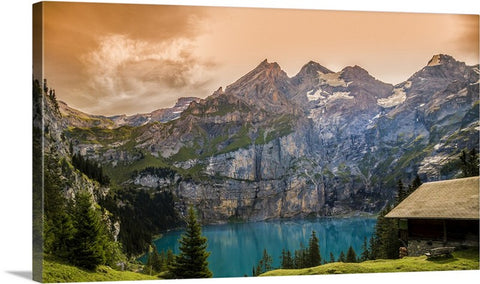 Imposing Nature Canvas Wall Art Print