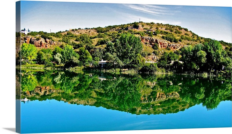 Lagoons of Ruidera Canvas Wall Art Print