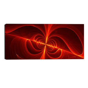 Laser Focused Abstract Canvas Wall Art Print