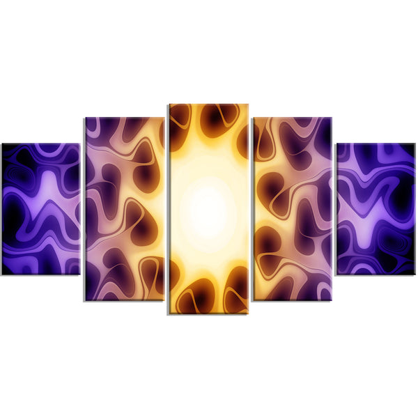 Look Into the Light Canvas Abstract Wall Art Print
