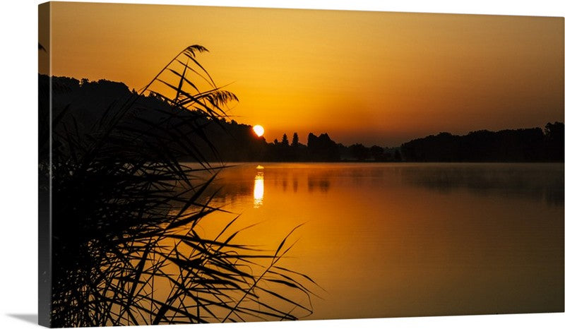 Morning Sun Canvas Wall Art Print