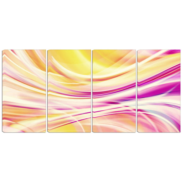 Oh So Sweet Abstract Canvas Wall Art Print