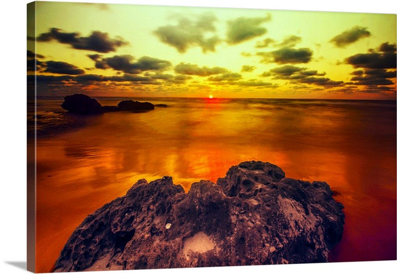 Perfect Sunrise Canvas Wall Art Print