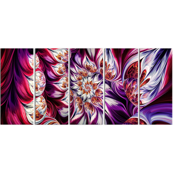 Radiant Purple Beauty Canvas Wall Art Print Abstract Print