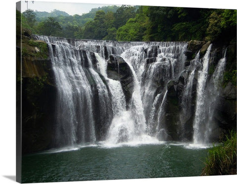 Shifen Waterfall Canvas Wall Art Print