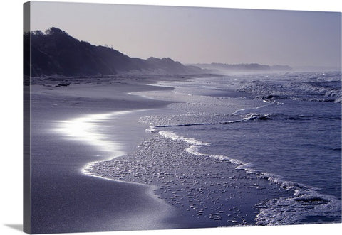 Sun and Sea Canvas Wall Art Print