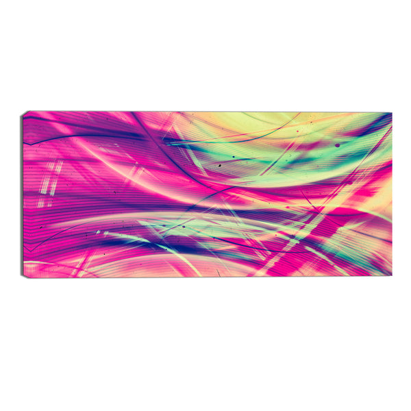 Take Me Back Abstract Canvas Wall Art Print