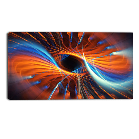 The Abyss Canvas Abstract Wall Art Print