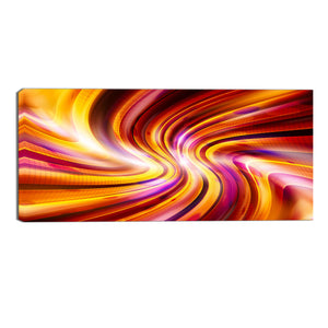 The Firebolt Abstract Canvas Wall Art Print